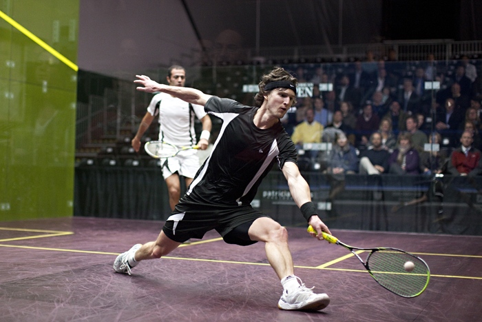 NAO: Matthew masters his demons to reach quarters