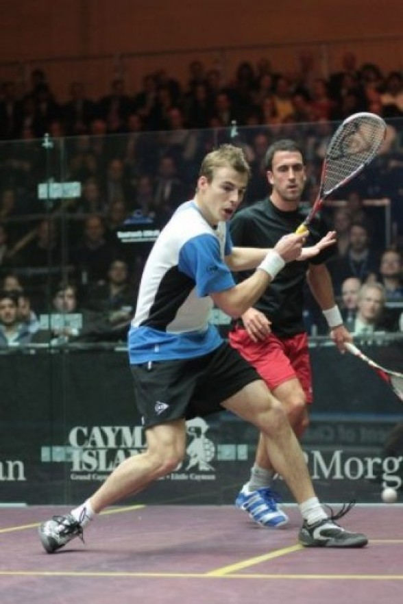 Swedish win boost Matthew's hopes in Manchester