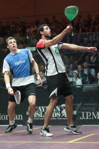 Matthew holds off Ashour at No.1
