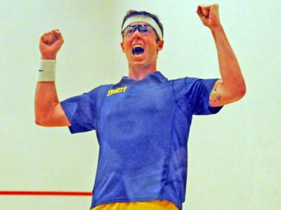College Squash: Lucky 13 for Trinity