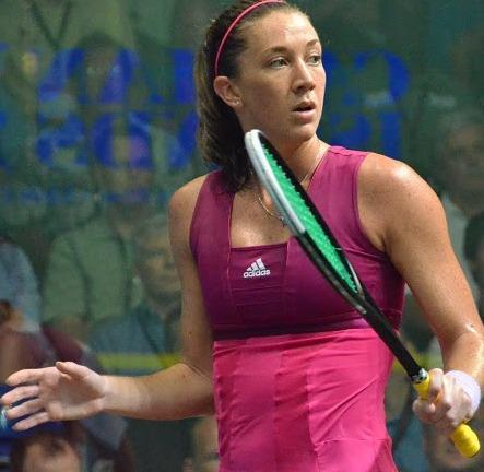 Donna models new squash range