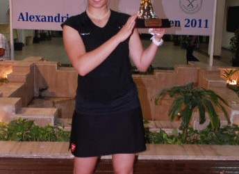 Revenge for Sherbini in Alexandria 29th September 2011 Nour El Sherbini collected her 2nd WISPA title this week at the Silver 20 Alexandria Open, beating compatriot and top seed Nour...