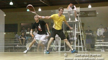 Gordon Secures El Salvador Open Success 27 September 2011 RESULTS: PSA Challenger 5 Tour De Las Americas El Salvador Open, San Salvador, El Salvador 1st round: [2] Erik Tepos Valtierra (MEX) bt...