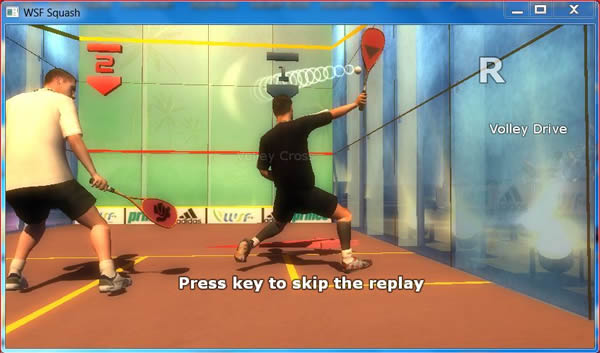 WSF: New squash PC video game launched