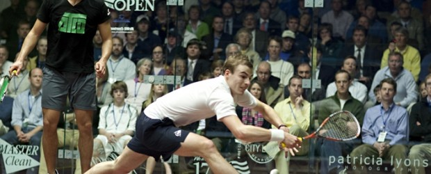 29 October 2011 RESULTS: PSA World Open, Rotterdam, Netherlands Brothers in Arms and Birthday Treat in Rotterdam It was another long day at Victoria Squash in Rotterdam, the Dutch City of...