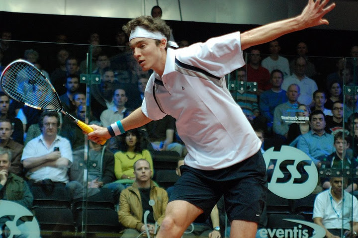 Blog: Pilley abuses his brother in the interests of squash science