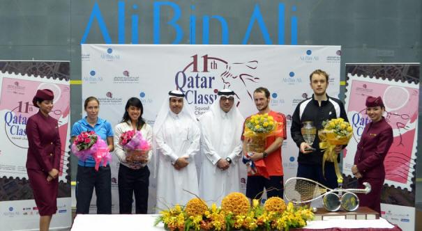 Qatar: Gaultier and David take titles