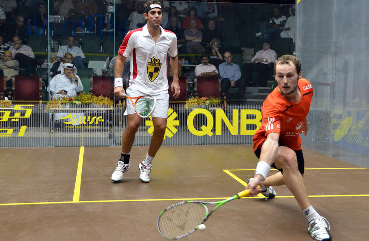 Qatar: Willstrop v Gaultier and David v Perry in finals