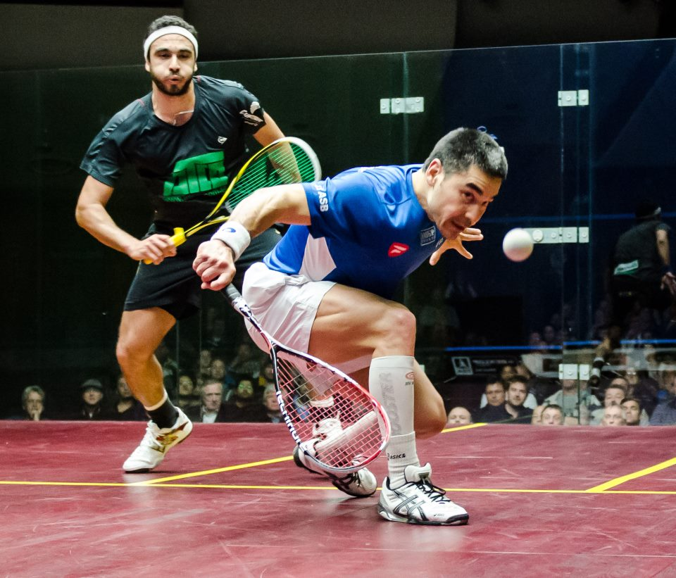 Thierry Lincou Squash Mad PSA Selby and Lincou to clash in Bluenose