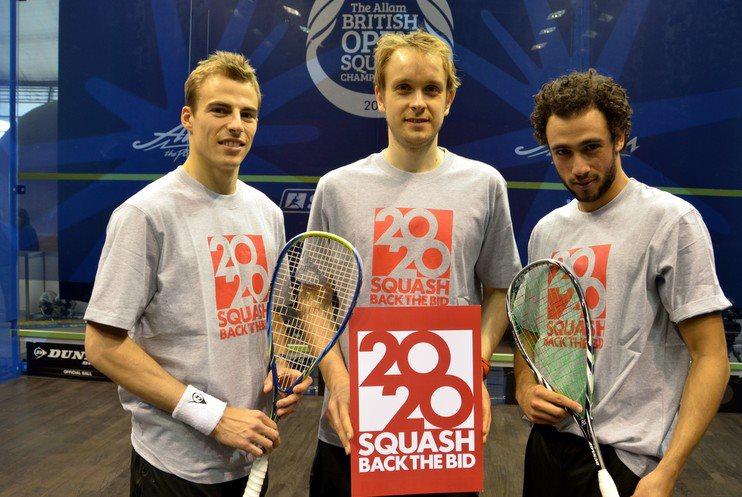 World Squash Day: Make a racket to back the bid