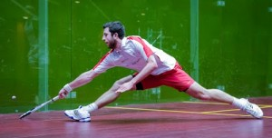 Daryl Selby in action
