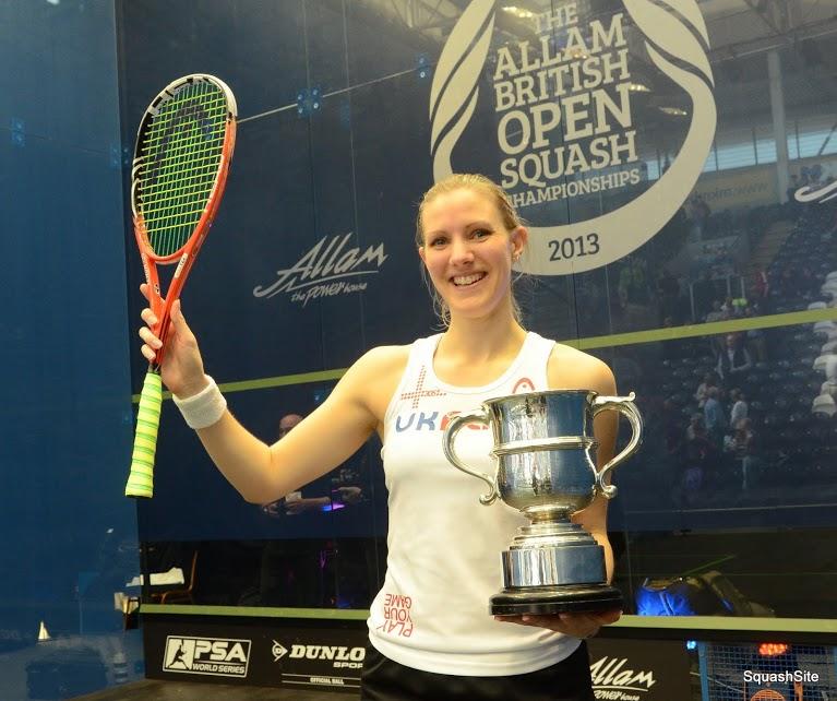 British Open champion Laura Massaro