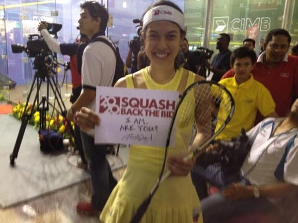 Nicol David pictured in KL