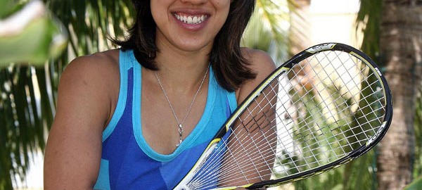 Olympic ambassador Nicol David makes history