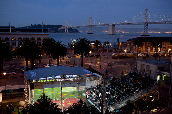 The stunning location in San Francisco, but it was a bridge too far for Gaultier against Rampant Ramy
