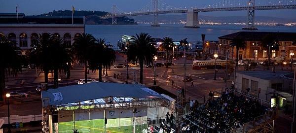 Bridge too far as Ramy rocks Gaultier in San Francisco