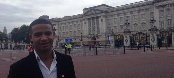Ambassador Grant at Buckingham Palace