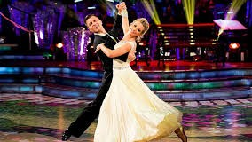 Rachel loves Strictly Come Squashing