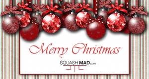 Happy Christmas from Squash Mad