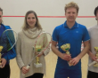 Husband and wife suffer mixed fortunes as Richards edges tense tussle