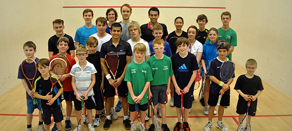 Squash in England's top 10 but numbers slip slightly