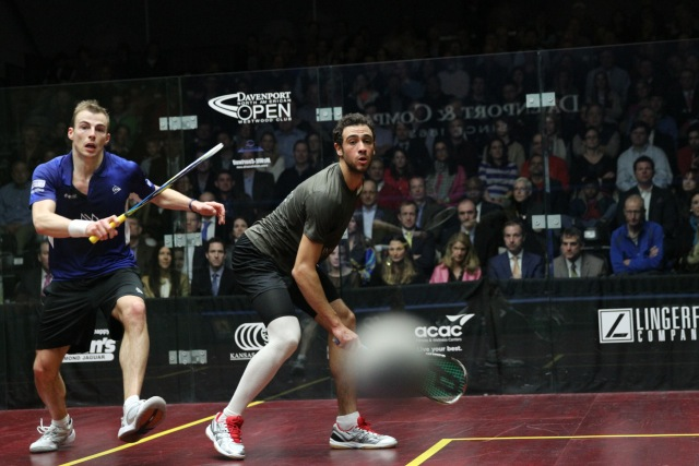 Hamstrung: Ramy Ashour suffered a series of niggling injuries throughout 2013. Picture by DAN BOGOSH