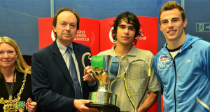 British Junior Open: Ahmad Al-Saraj makes Jordanian history as he lands maiden Under 19 crown
