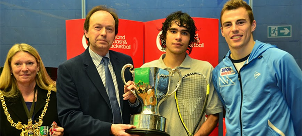 British Junior Open: Ahmad Al-Saraj makes Jordanian history as he lands maiden Under 19 crown
