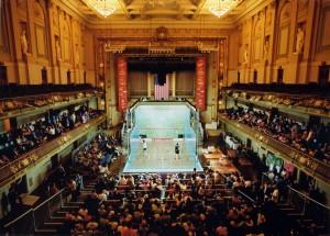 Squash at Boston Symphony Hall