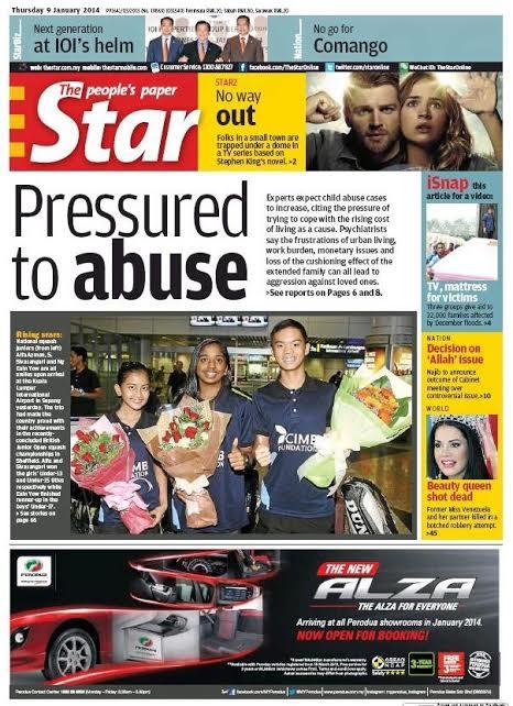 Squash Mad | Major media milestone in Malaysia
