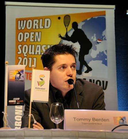 Tommy Berden at the Rotterdam World Open