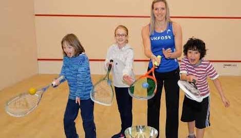 World champion Laura Massaro hits the road, hits the headlines, and hits a few squash balls