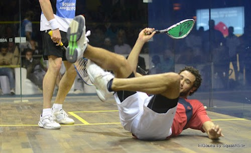 Ramy hits the deck