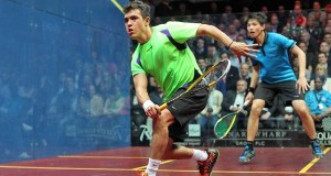 English aces on collision course at Canary Wharf
