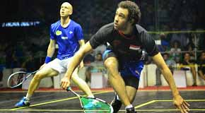 Ramy Ashour enjoys happy Olli day in El Gouna