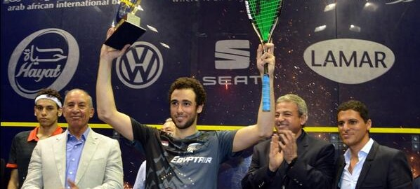 Fabulous fireworks as Ramy Ashour takes El Gouna title
