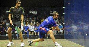 Gregory Gaultier stays on top of PSA world rankings