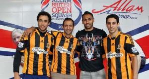 Hull of a night as squash stars meet Tigers