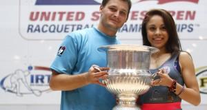 Racquetball: Kane Waselenchuk and Paola Longoria dominate