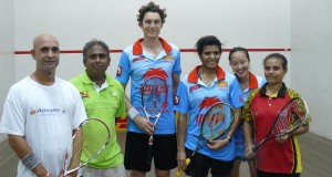 WSF Ambassadors Cam Pilley and Low Wee Wern help Papua New Guinea gear up for The Games