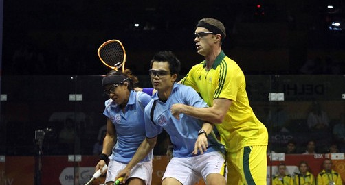 Malaysians in a muddle in doubles