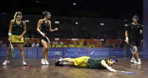 Aussies going flat out for gold in Glasgow doubles events