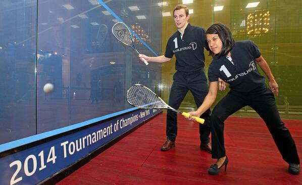 Commonwealth Games champions Nicol David and Nick Matthew