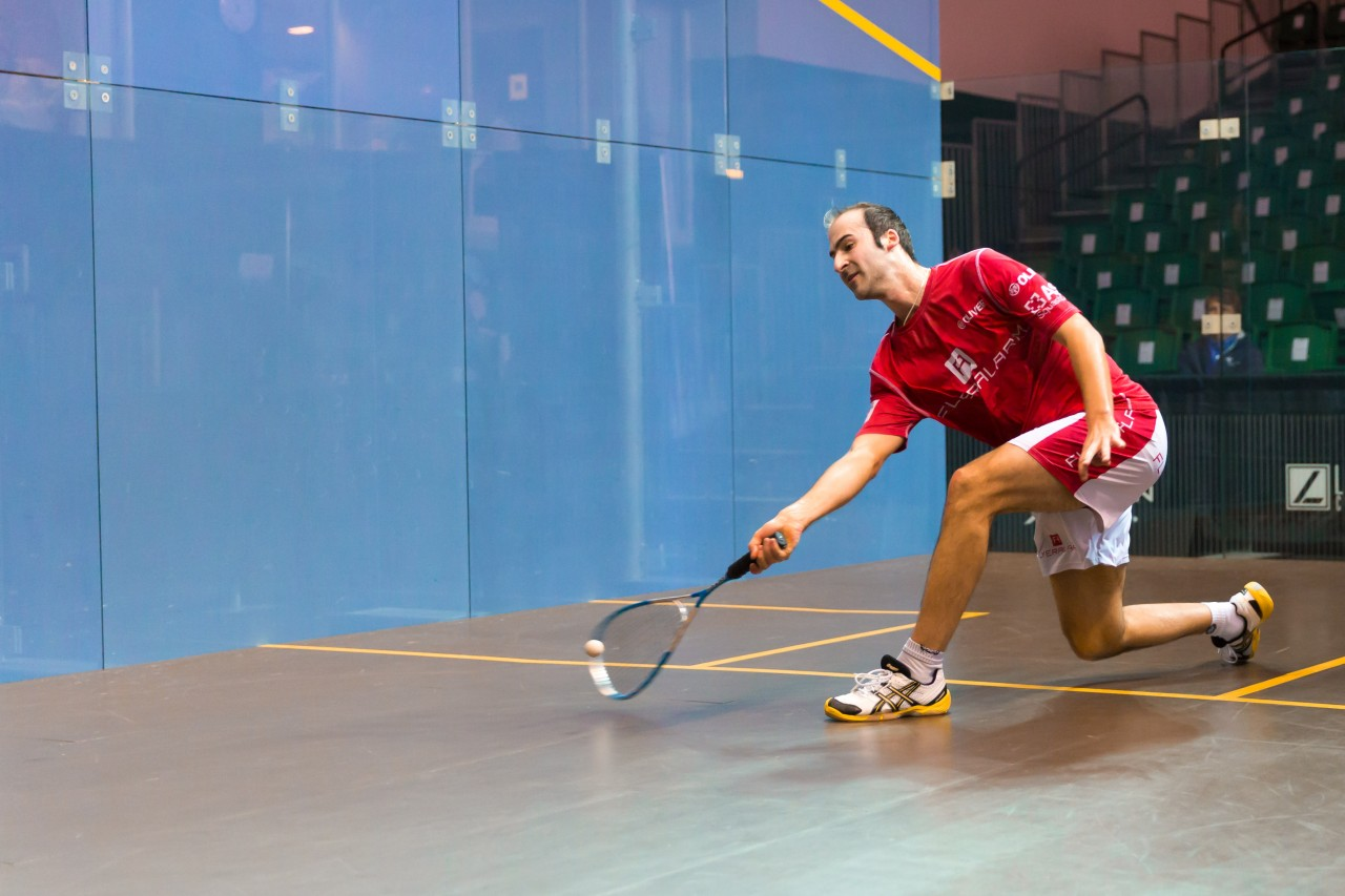 Simon Rosner in action