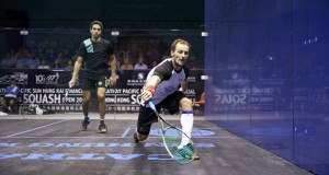 Gregory Gaultier aims for a first Hong Kong title
