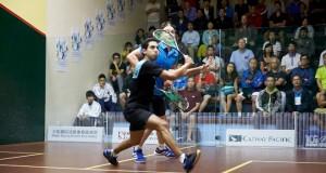 Tarek Momen takes out James Willstrop in Hong Kong