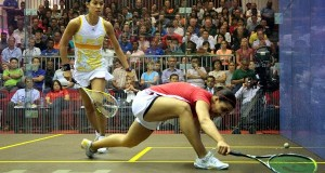 Nicol David crashes out to leave an all-Egyptian final in KL