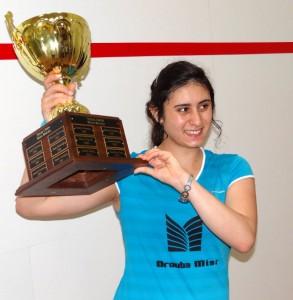 Top seed Nour El Sherbini