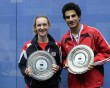 Hesham and Tomlinson win university titles