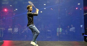 Speed thrills on World Squash Day